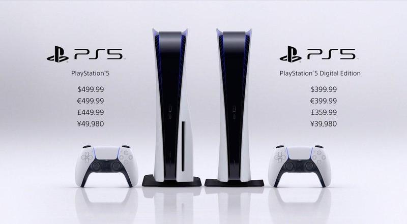 PS5光碟版定價與XBX相同,但SIE執行長表示定價年初早已確定。(翻攝自Playstation官網)