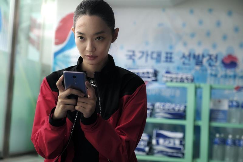 申敏兒睽違4年接拍新片《詭憶》,挑戰詮釋跳水選手。(采昌國際多媒體提供)