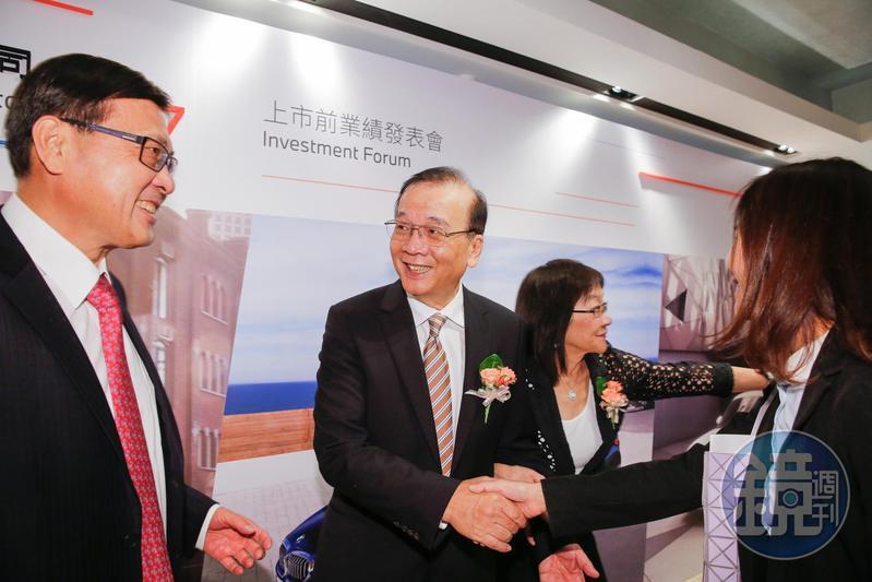 汎德永業董事長唐榮樁因兒子不接班,轉念推動公司掛牌上市。