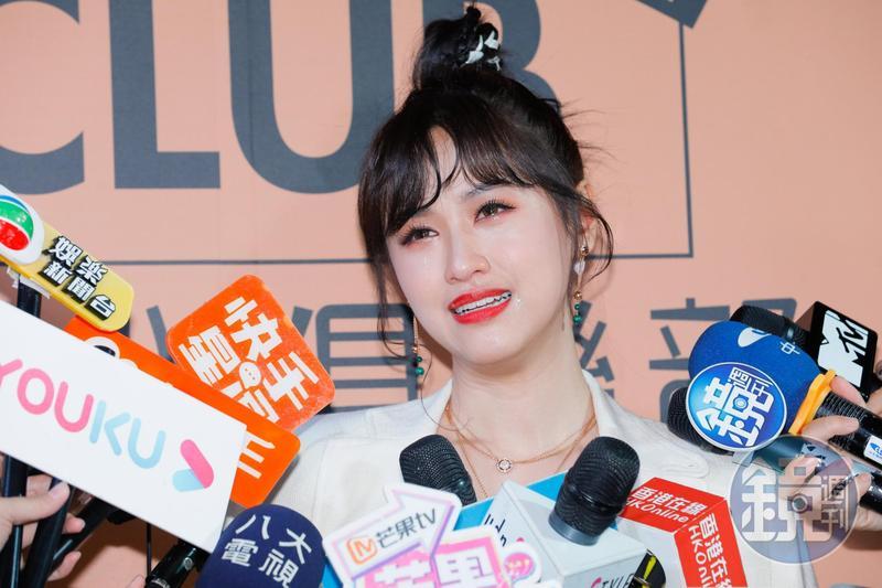 Sandy吳姍儒不敢關心爸爸吳宗憲,希望大家都要好好的。