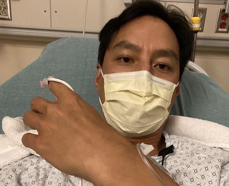 吳彥祖去年因盲腸炎入院,沒想到舊病二度復發。(翻攝自吳彥祖IG)