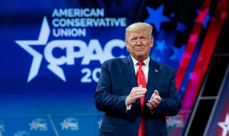 美國總統川普表示原則上同意TikTok和甲骨文的交易案。(翻攝自Donald J. Trump粉絲專頁)