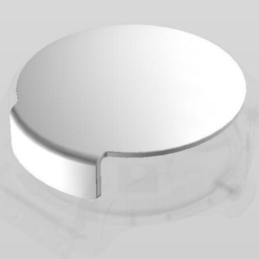 為了可以讓佩戴者更完整看到球體陀飛輪的轉動,藍寶石水晶鏡面從面盤延伸到錶耳中間的範圍,多了一道切面形成折角立體視窗,手錶的結構看起來更加立體,是品牌耗時14個月才研發出來的成果。