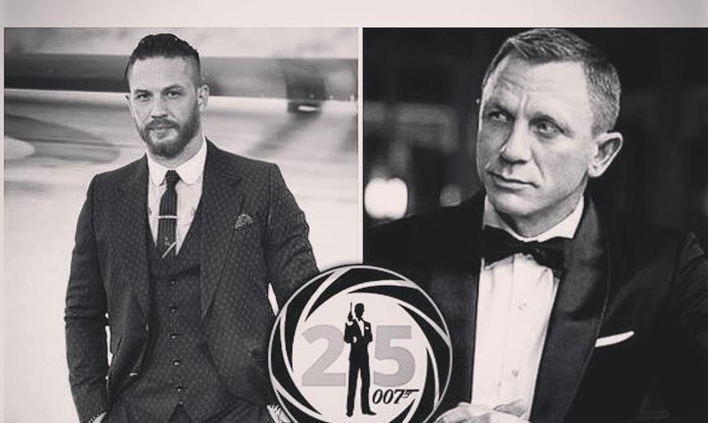 湯姆哈迪(左)被傳是新任007人選。(翻攝自TOM HARDY IG)
