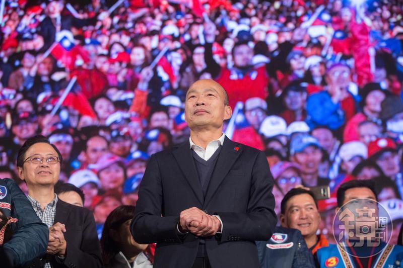 曾在全台颳起「韓流」旋風的韓國瑜,號稱擁有百萬韓粉。(本刊資料照)