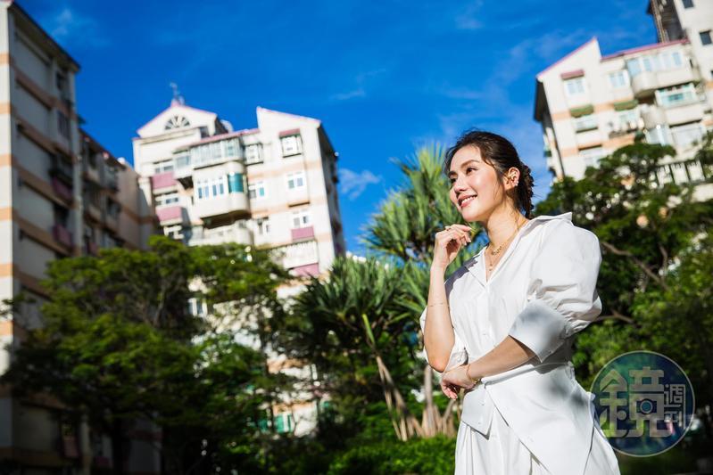 王宇婕出道20年,努力拚出北台3間房。