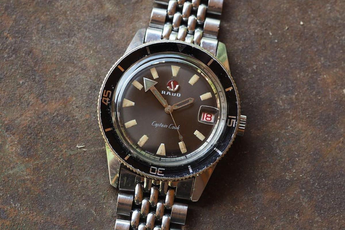 雷達庫克船長1962年古董錶。