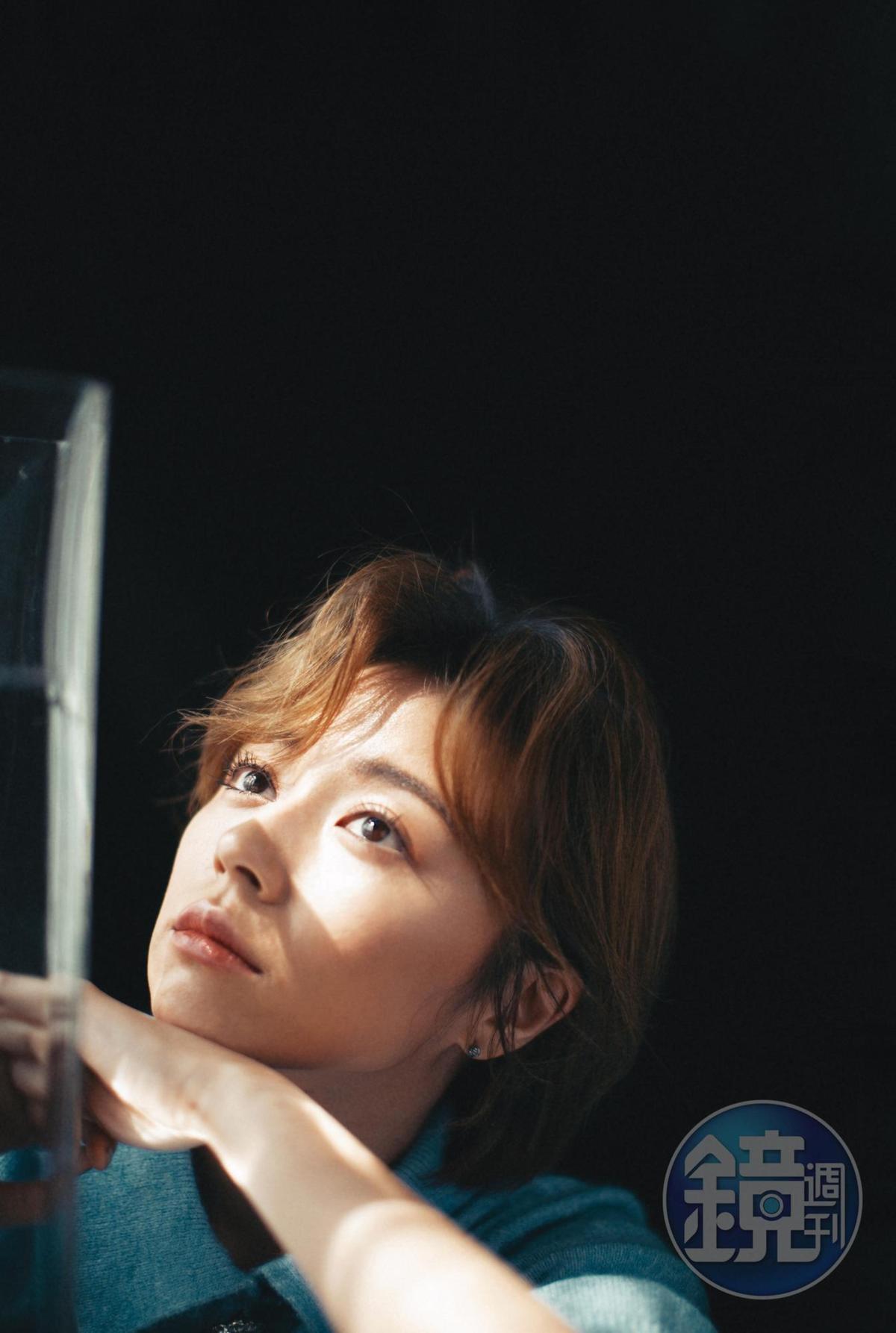王瞳承認,以前她總是在原地,不知道該怎麼辦,決定為自己擔起責任,絕對是她的一大步。