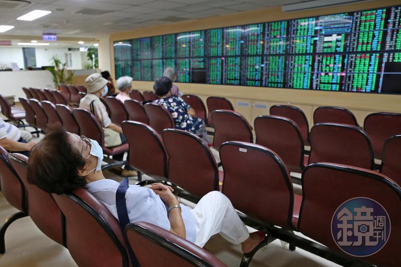 全球經濟不確定性攀升,導致台股連跌5日。