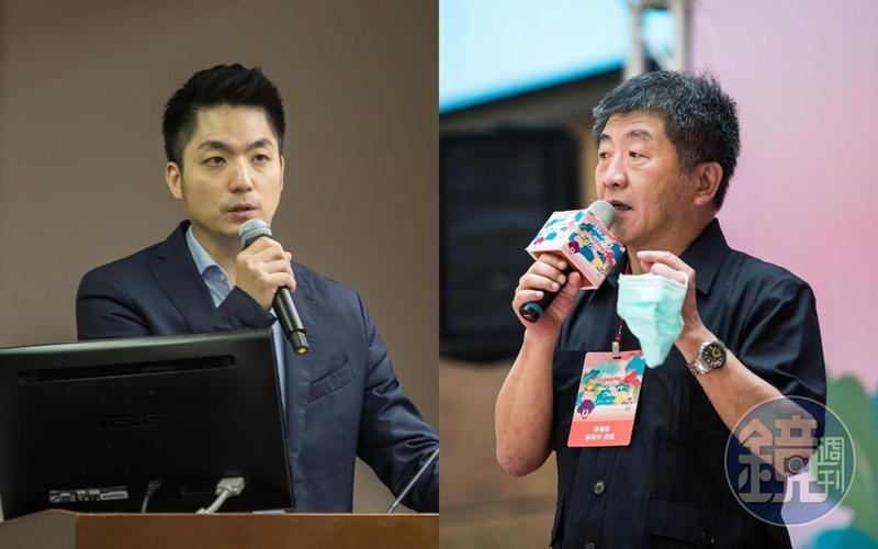 蔣萬安與陳時中分別是藍綠目前台北市長熱門人選,儘管皆未鬆口表態參選,但將先在立法院過招。