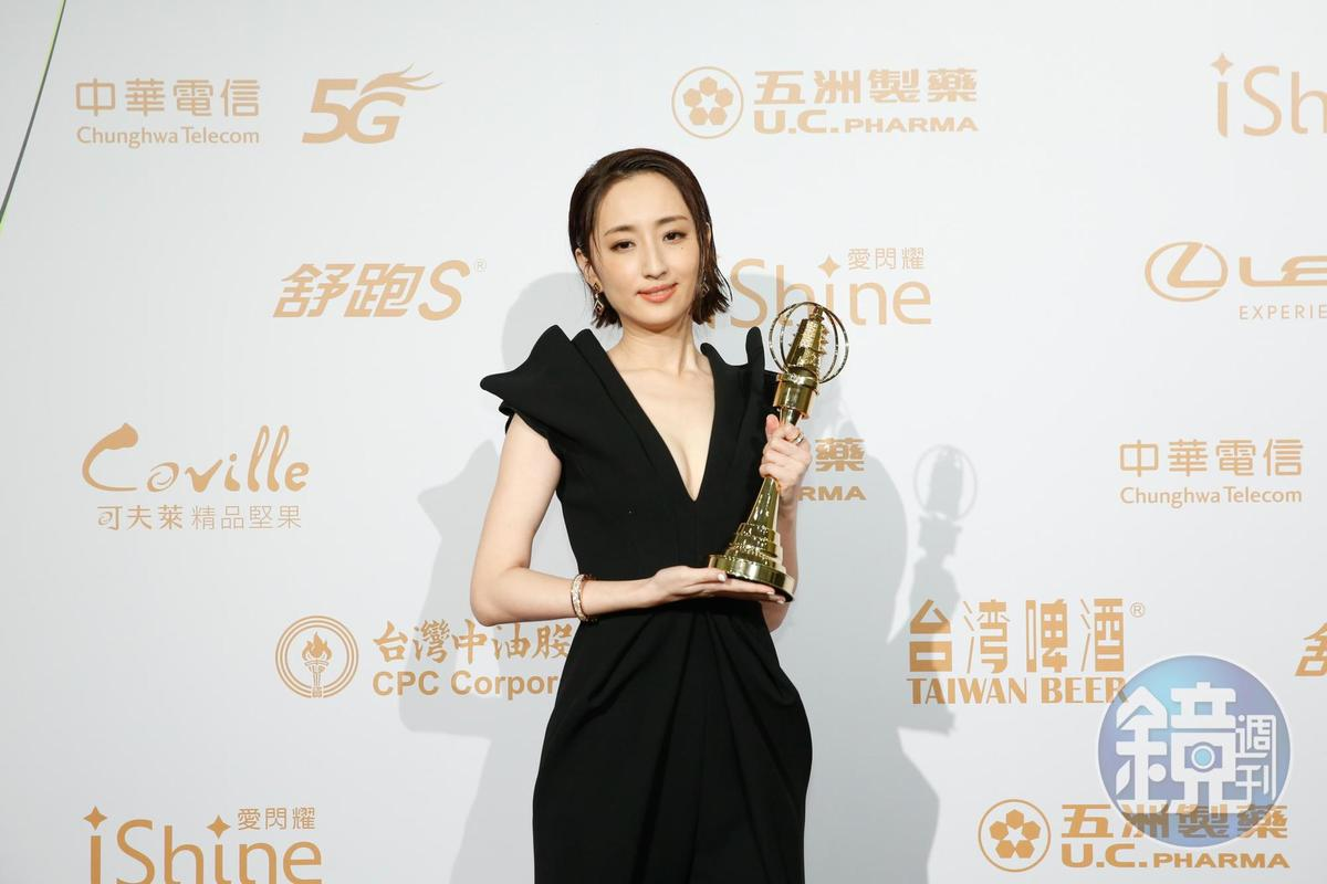 柯佳以《想見你》奪視后,贏過天心、楊謹華等實力派女演員。