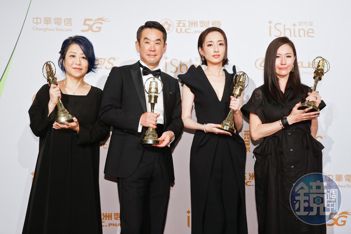 《想見你》一口氣奪下最佳戲劇、女主、劇本、創新獎項,成為本屆金鐘獎最大贏家。