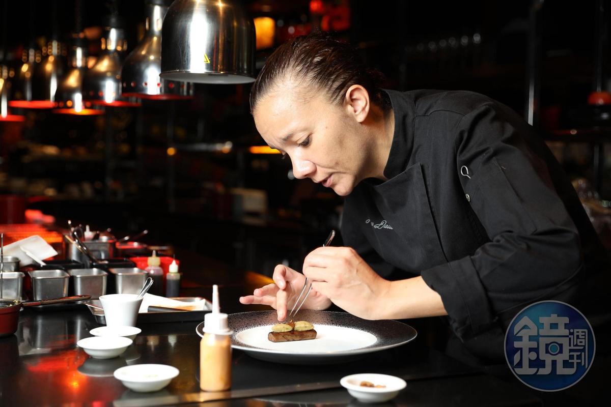 Florence深諳亞洲人餐飲習慣,在調味的平衡上特別用心。