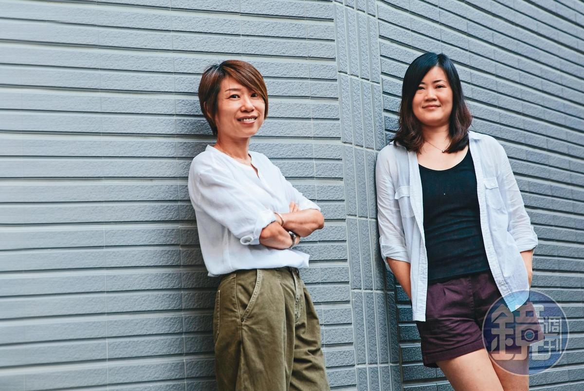 女性影展主席王君琦(左)和羅珮嘉(右)將本屆主題定調為「Femture:未來的模樣」 ,探討女性未來的走向。