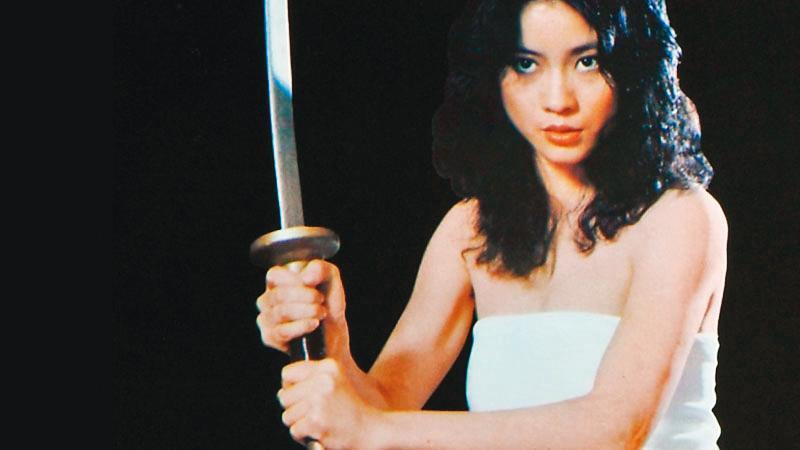《瘋狂女煞星》是由女星陸小芬主演,開啟台灣女性復仇電影的風潮。(女性影展提供)