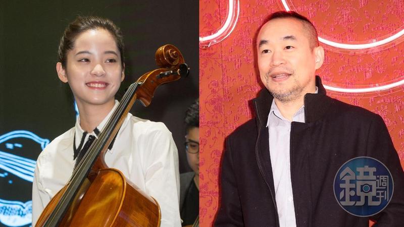 歐陽娜娜(左)赴央視唱中國愛國歌曲引發爭議,黃立成(右)發文力挺,要政府別來搞藝人。(本刊資料照)