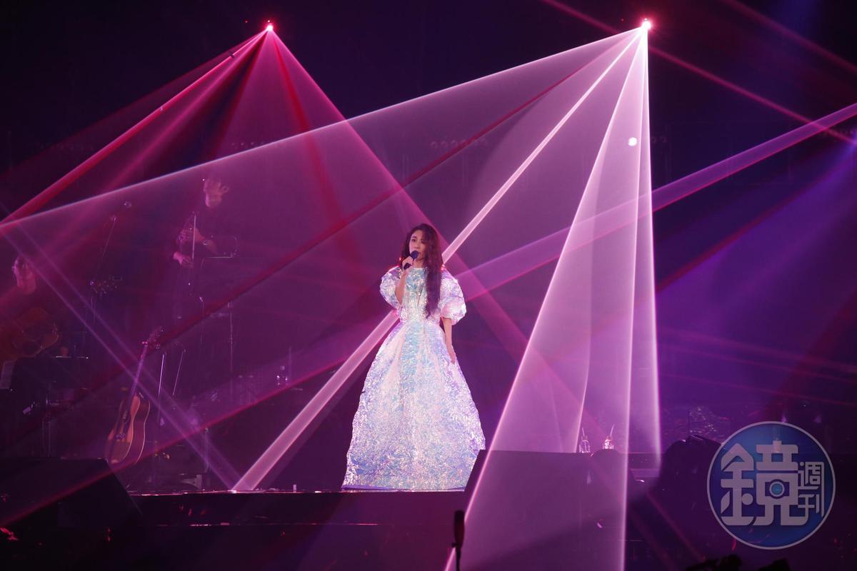 連續唱4場,田馥甄自認還有體力能繼續唱。