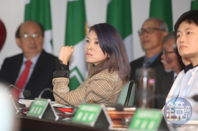 民進黨發言人顏若芳表示,憲改的討論是台灣人自己民意決定,不容許其他外部勢力來指手畫腳。(本刊資料照)