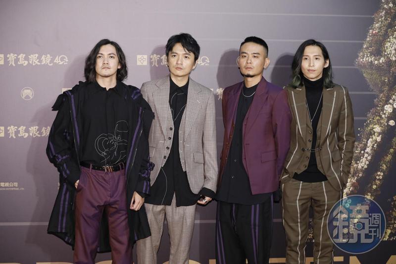 第31屆金曲獎最佳樂團由成團二十年的「滅火器」奪得。