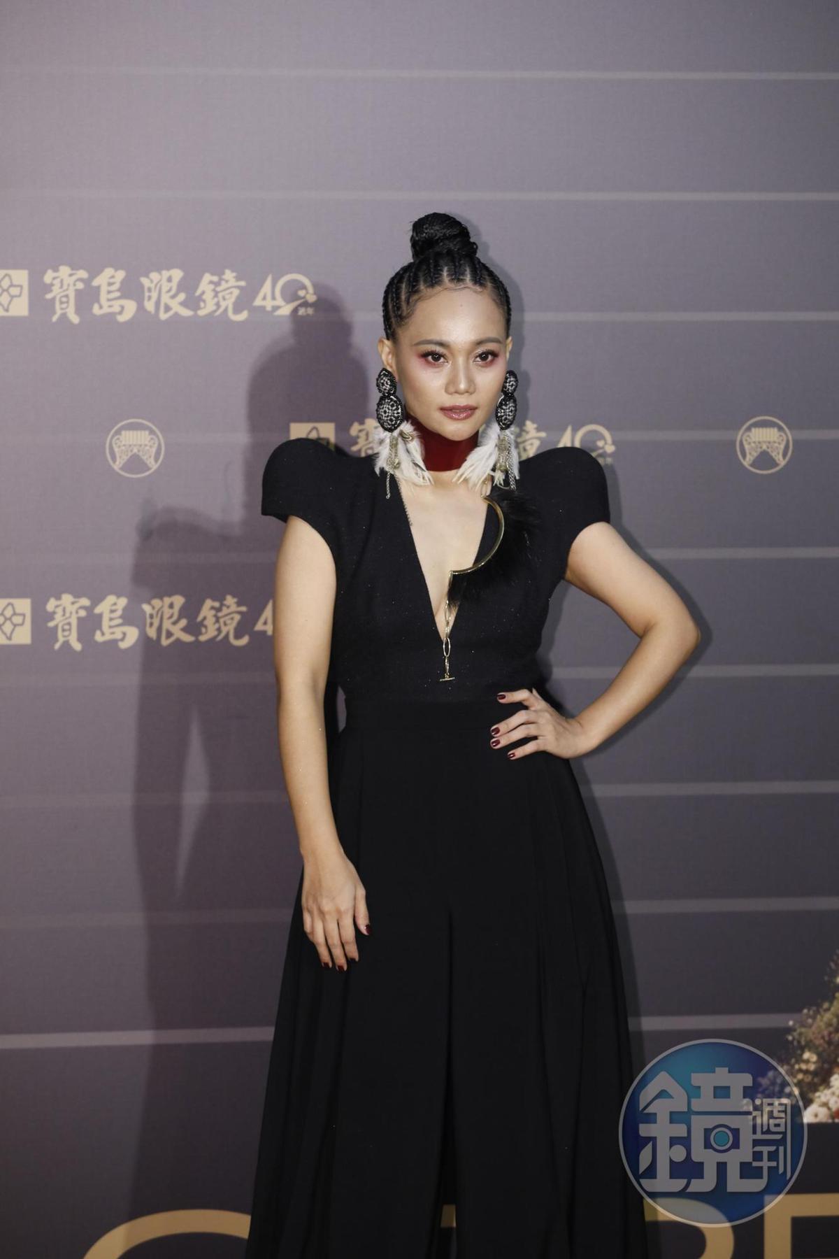 阿爆此次《kinakaian 母親的舌頭》專輯風光入圍八項,成為今年金曲獎最受矚目的歌手。
