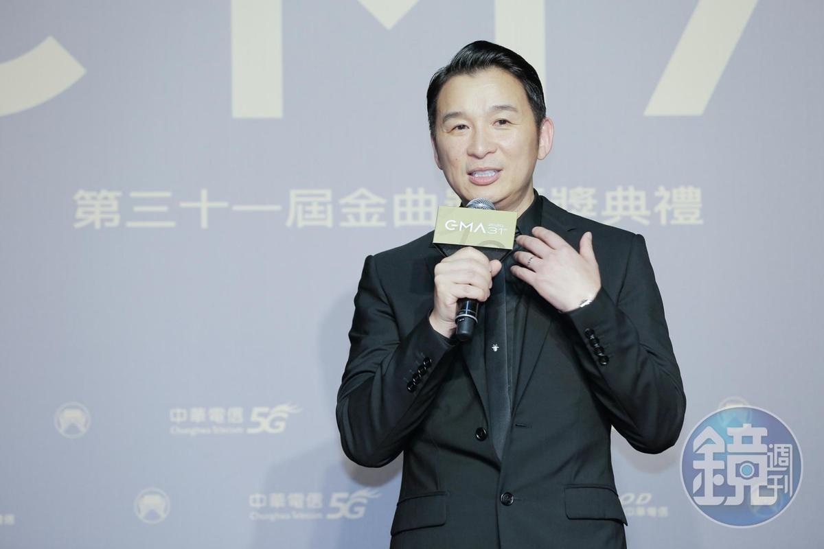 陳鎮川表示,王若琳專輯的耐聽度、精緻度是獲勝關鍵。