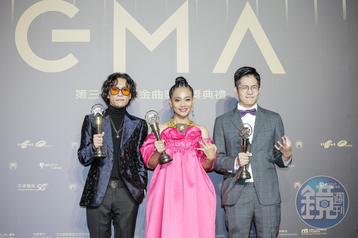 阿爆奪得最佳年度歌曲、最佳原民專輯及最佳年度專輯3大獎項,是本屆最大贏家。