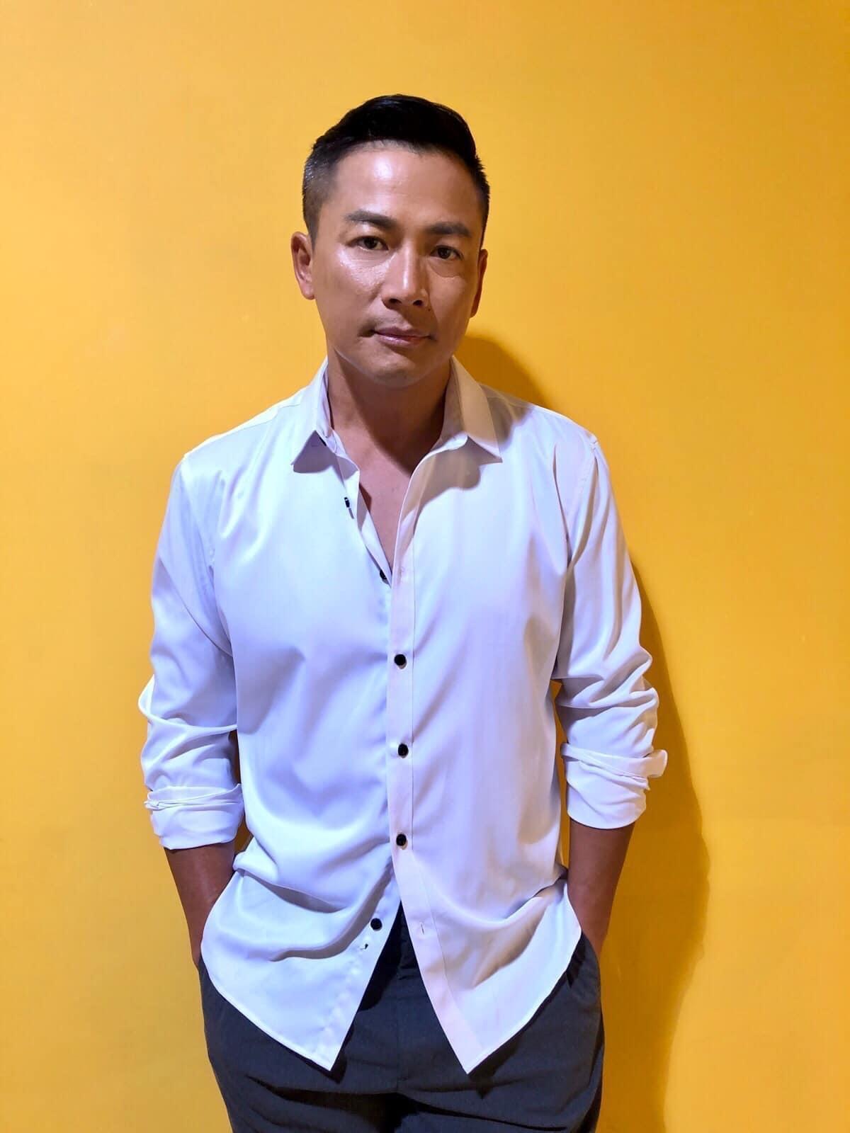 江宏思屬易胖體質,除靠飲食及運動外,他也愛用瘦身產品幫助控制體重。(翻攝江宏恩臉書)