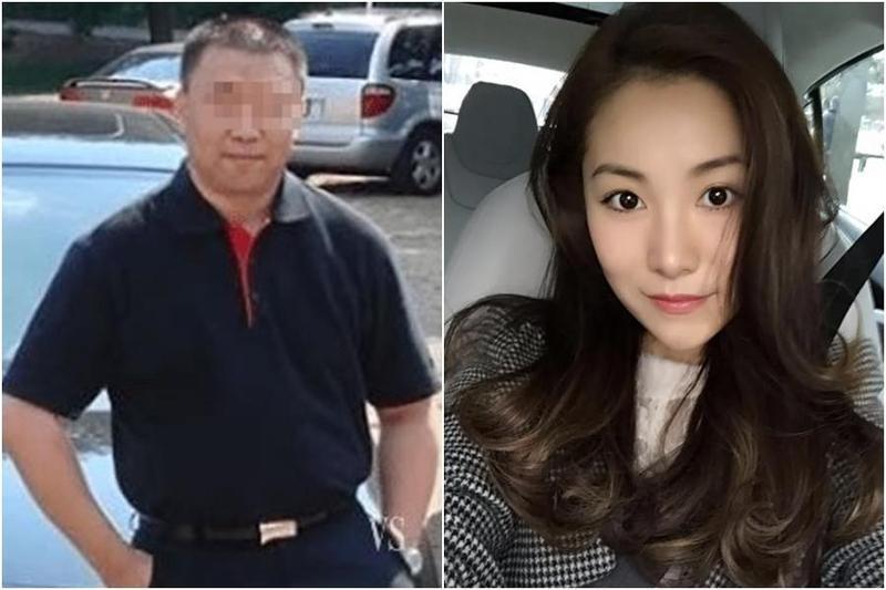 中國大陸富豪苑剛(左)想迎娶外甥女趙一銘(右),結果慘遭表姐夫趙力殺害分屍。(翻攝自趣聞資訊視頻)