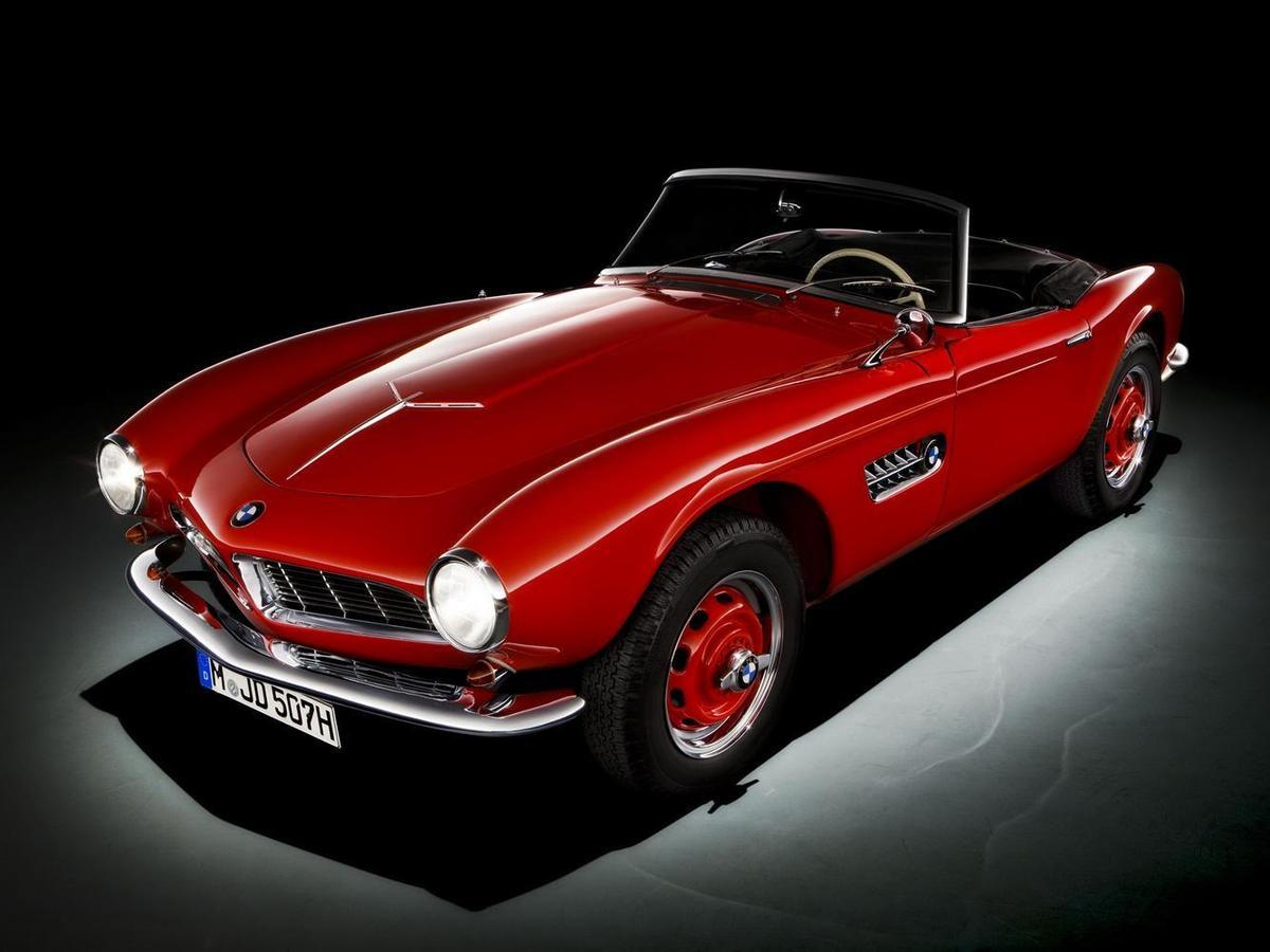 帥氣的BMW 507僅生產了252台,再加上兩台原型車。