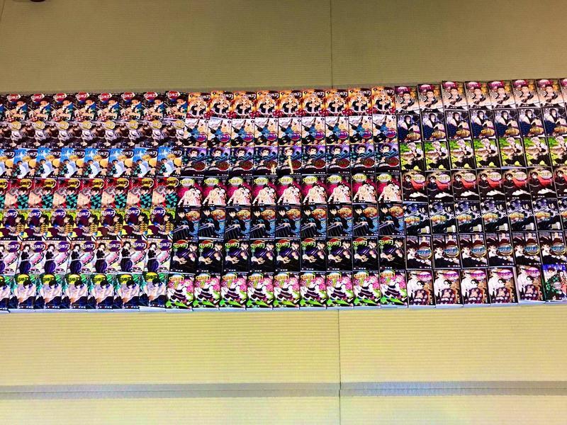 日本一間溫泉會館的《鬼滅之刃》漫畫遭竊,網友捐出190本相助。(翻攝自twitter:@onsen_mori)