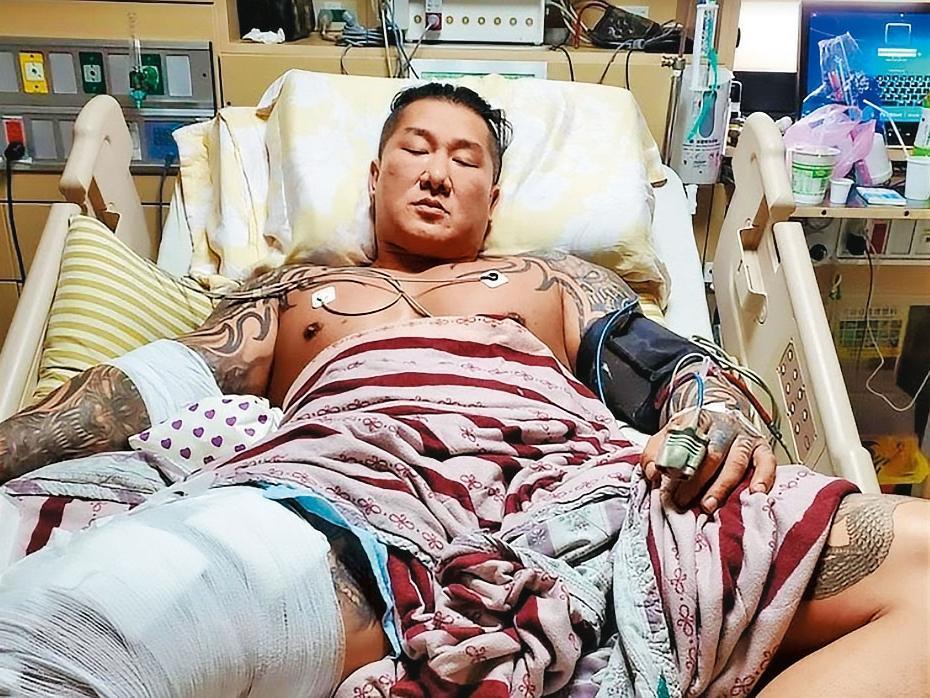 網紅館長陳之漢八月底遭槍擊、身中三槍,所幸無大礙。(翻攝畫面)