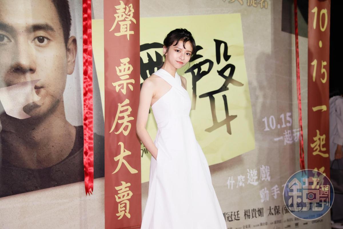 陳姸霏上週出現腸胃炎症狀,去了3次急診室。