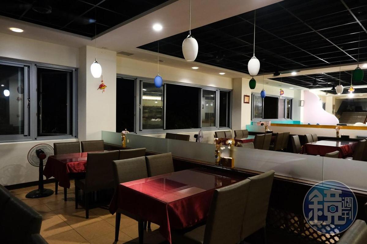 空間寬敞的「維野納複合式親子餐廳」,適合家庭前來悠閒用餐。