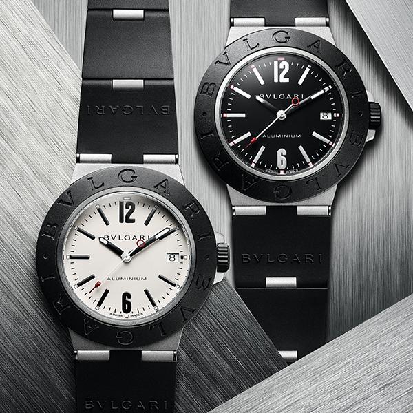 Aluminium|錶徑40mm/鋁材質錶殼/時間、日期指示/B77自動上鏈機芯/防水100米/建議售價約NT$ 91,400
