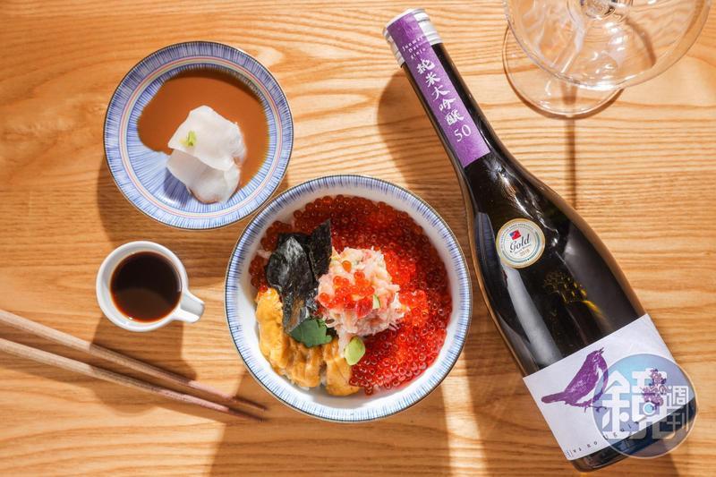 「辻半」即將舉行的「Sake of Life日本酒品飲餐酒晚宴」,幫招牌料理「海鮮珠寶盒」找到最速配的清酒搭檔。