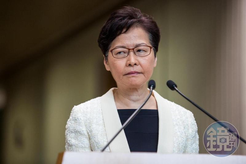 國務院最新公布的制裁名單,包含林鄭月娥等10名中港官員。(本刊資料照)