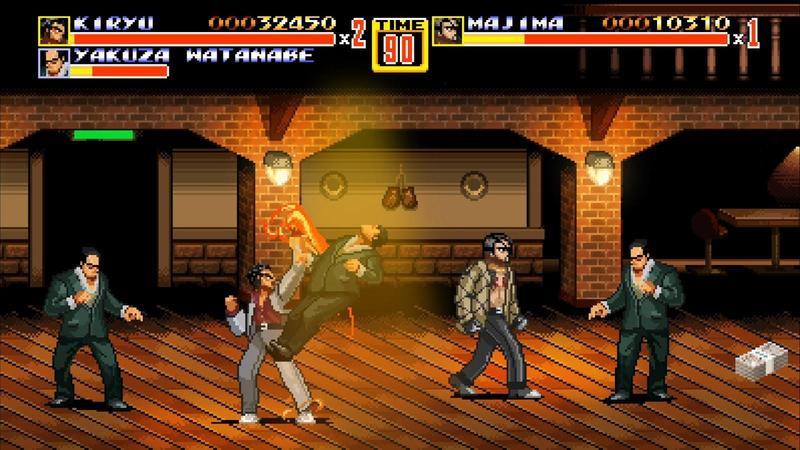 《人中之龍》主角桐生一馬、真島吾朗,將在SEGA 60週年特製遊戲中亮相。(翻攝自Steam)