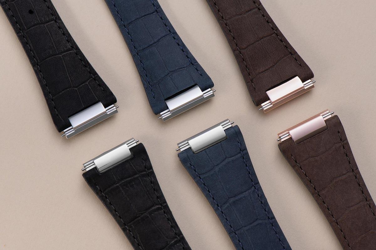 Highlife雋雅系列的快拆錶帶選擇眾多,款式豐富。