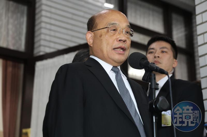 行政院長蘇貞昌施政報告遭藍委杯葛並佔據議場,引來蘇火大怒斥。