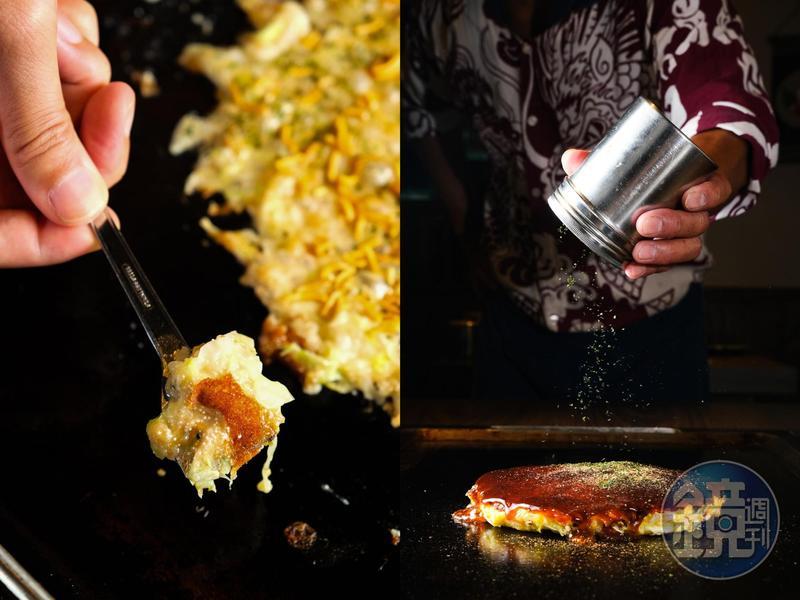 由日本老闆主理的文字燒專賣店「木村屋」,可嘗到道地的風味。