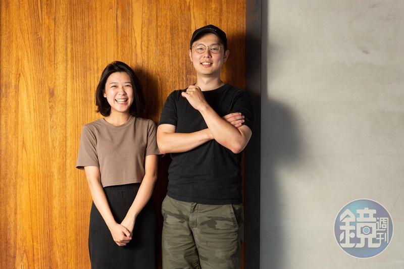 Podcast節目《那些你不敢跟老闆說的事》由Jack徐嘉凱(右)與Cady高可芯(左)共同主持。