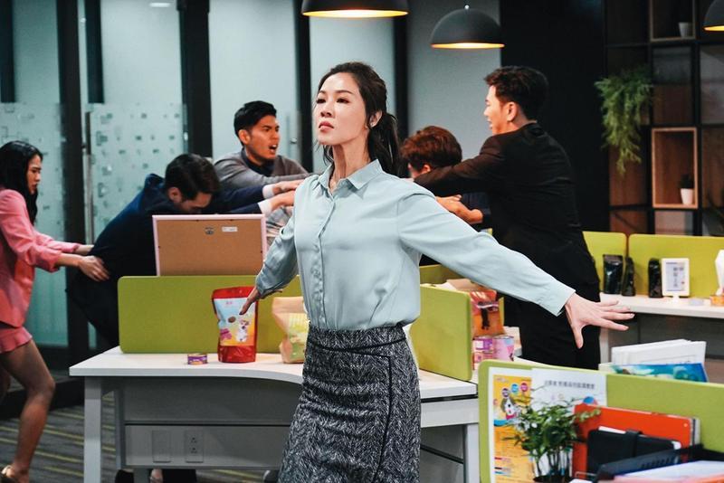 謝盈萱常入圍各種獎項,她雖沒以《俗女養成記》敲響金鐘,但她狂放形塑的角色大受歡迎,續集已開拍。(華視提供)