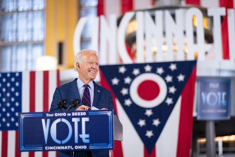 民主黨候選人拜登父子的貪腐醜聞,遭臉書和推特封鎖。(翻攝自Joe Biden粉絲專頁)