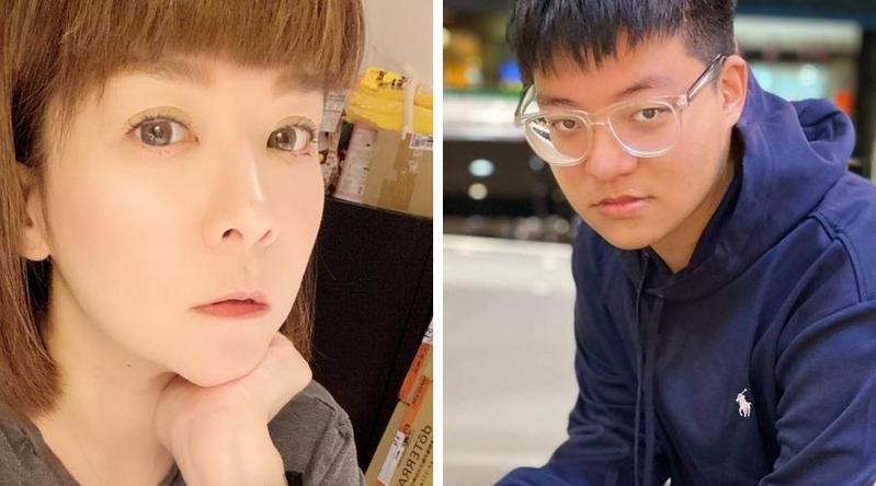 陸元琪與兒子經營網拍工作。(翻攝自臉書)