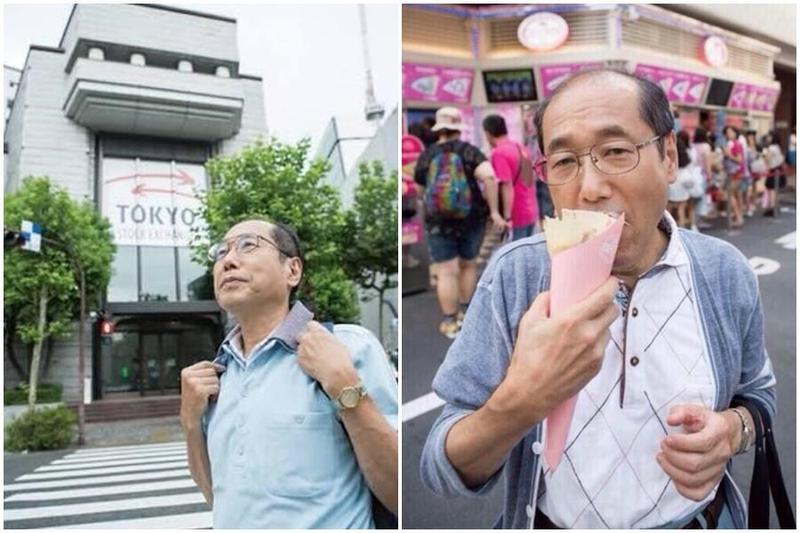 71歲的桐谷廣人手上持有超過1千家公司的股份,靠著股東優惠券34年來吃喝玩樂全不用付錢。(翻攝自gadgetintroduction.com)