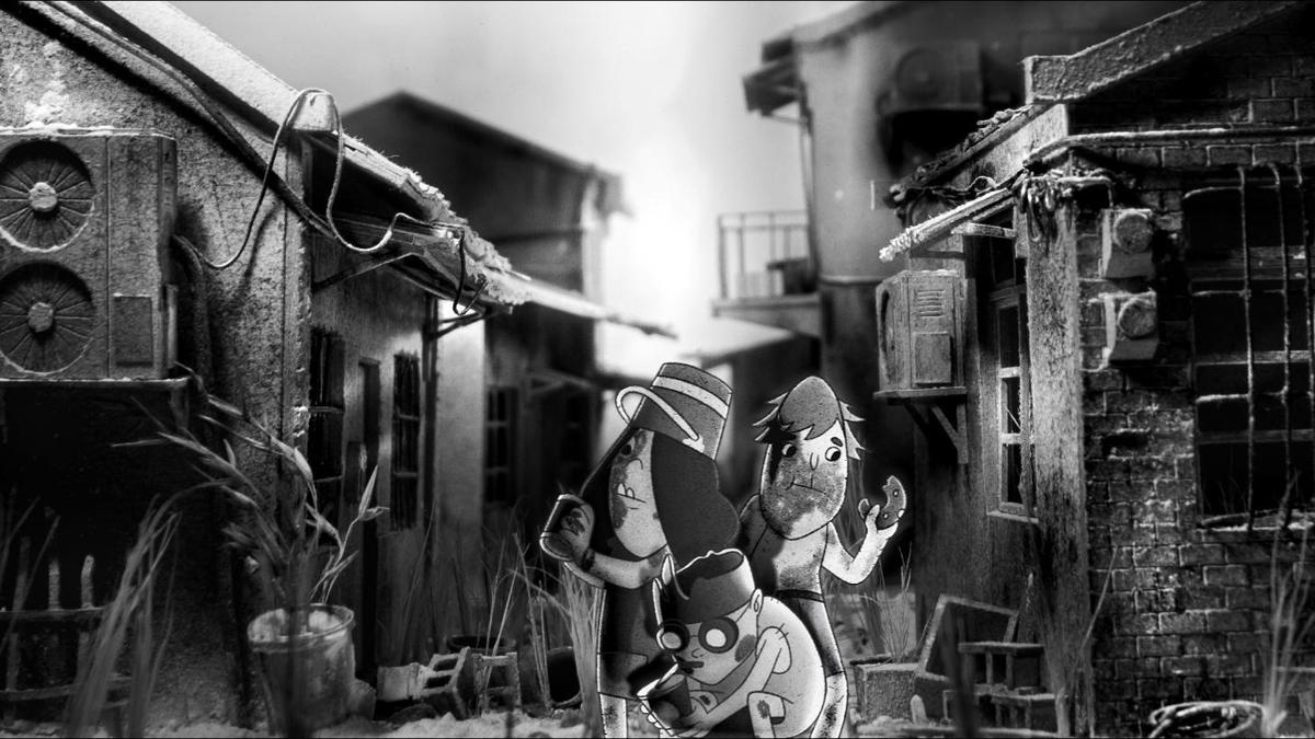 另一部銀獎作品則是動畫《大冒險鐵路》,呈現階級、族群、貧富差距等普世議題。(台灣國際女性影展提供)