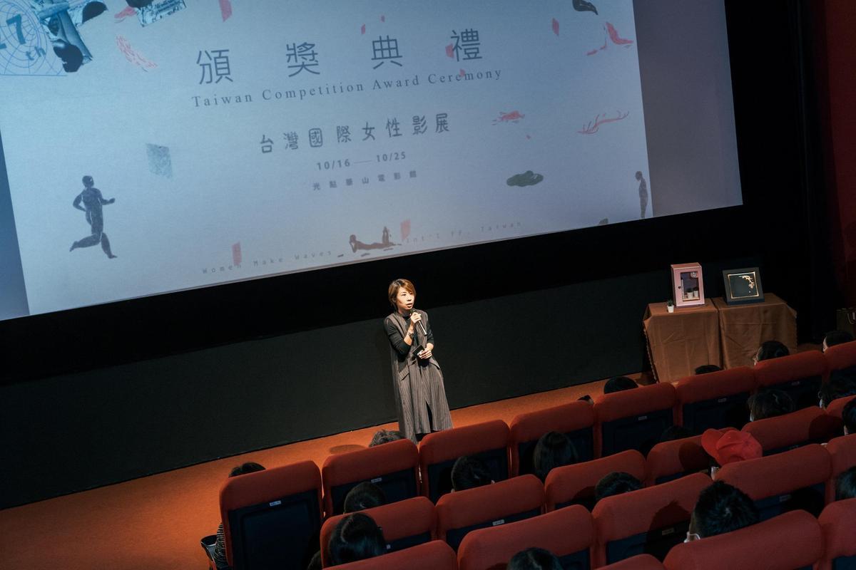 影展主席王君琦表示,近年女性影展台灣競賽愈來愈受國際影展關注。(台灣國際女性影展提供)