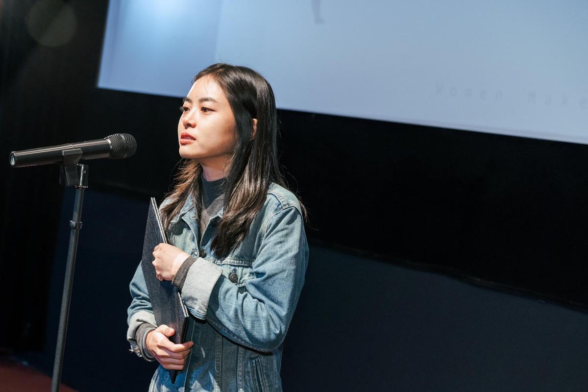 游珈瑄自導自演導演《家庭式》,鋪墊祖孫間矛盾複雜的情感關係,獲得銀獎。(台灣國際女性影展提供)