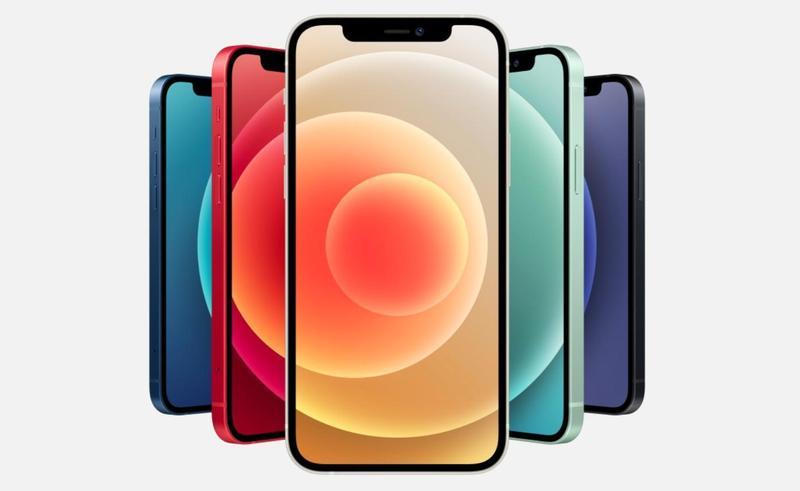 Apple新機iPhone 12今在台灣正式開賣,立刻掀起民眾搶購熱潮。(翻攝自蘋果官網)