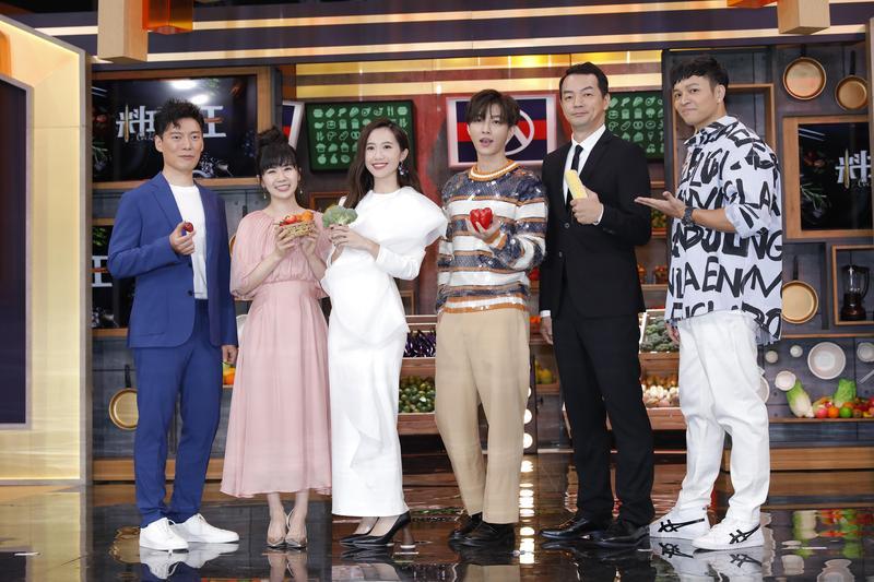 Lulu主持新節目《料理之王》,製作單位邀請炎亞綸擔任飛行導師。